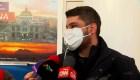 Aeropuerto de Tijuana: pasajeros que llegan de China