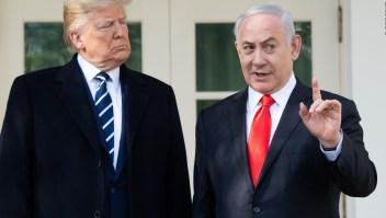 Trump tiene una propuesta para conflicto palestino-israelí
