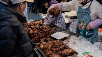 Piden prohibir la venta de animales silvestres en China