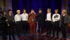 Grupo de K-pop juega a las escondidas con Ashton Kutcher