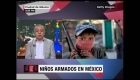 Los niños, el nuevo rostro de la violencia en México