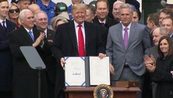 Demócratas, ausentes durante la firma del T-MEC