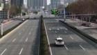 Coronavirus: las calles de Wuhan están desoladas