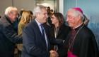 El presidente de Argentina ya está en Italia y se reunirá con el Papa