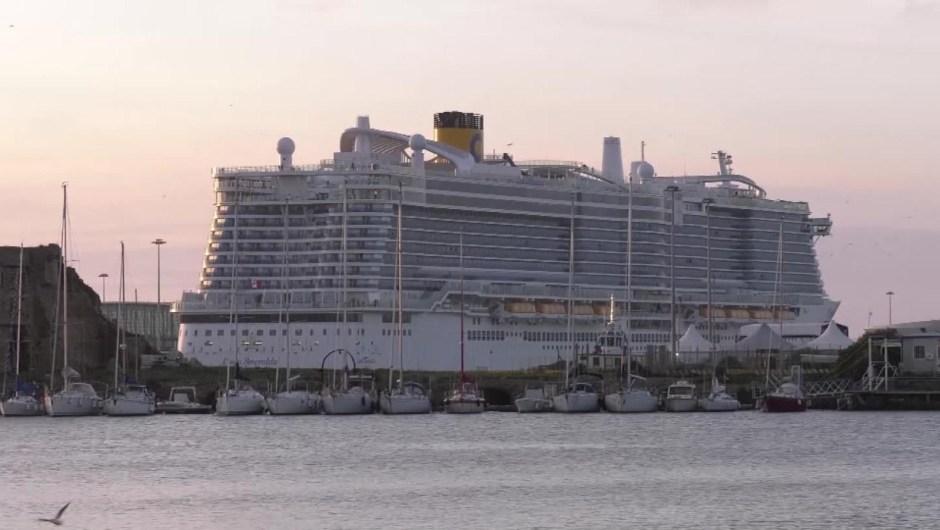 Mujer con fiebre en crucero en Italia no tiene coronavirus
