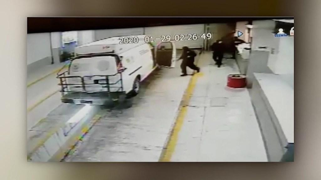Así fue la fuga de reos enCiudad de México