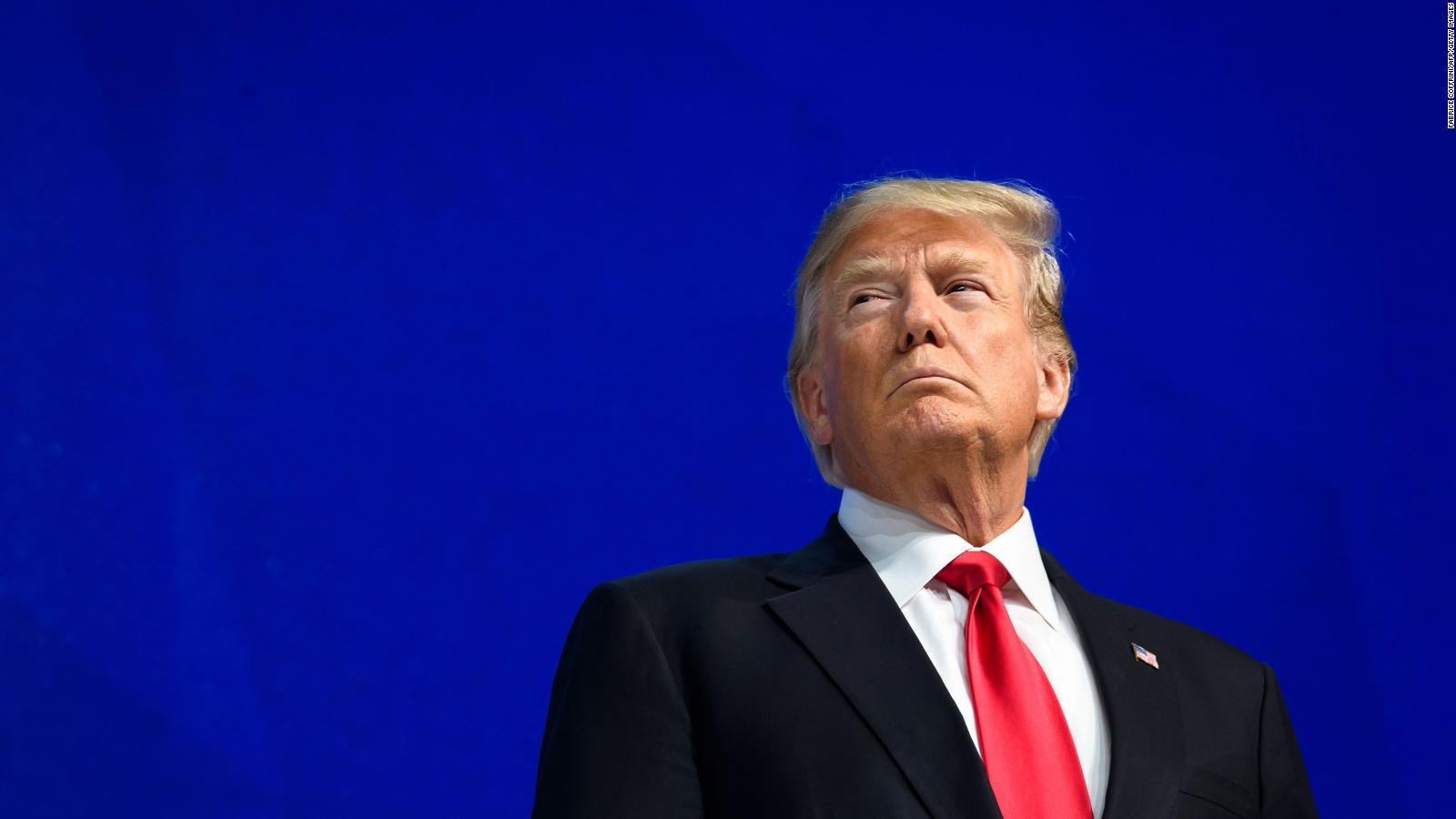 No habrá testigos en el juicio contra Trump