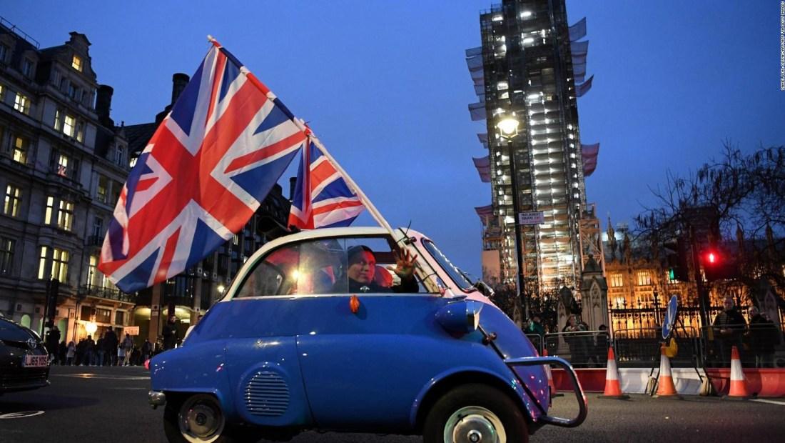 Reino Unido, celebración y resignación por el Brexit