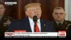 Trump: Irán tiene que acabar con el apoyo al terrorismo y las armas nucleares