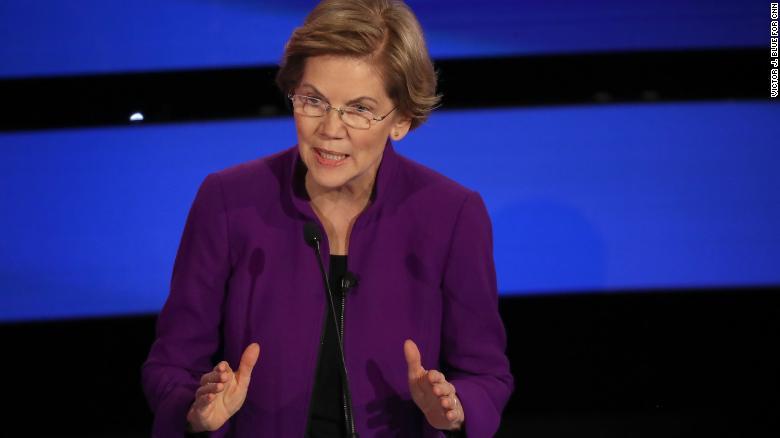 Warren explica por qué una mujer puede ganarle a Trump
