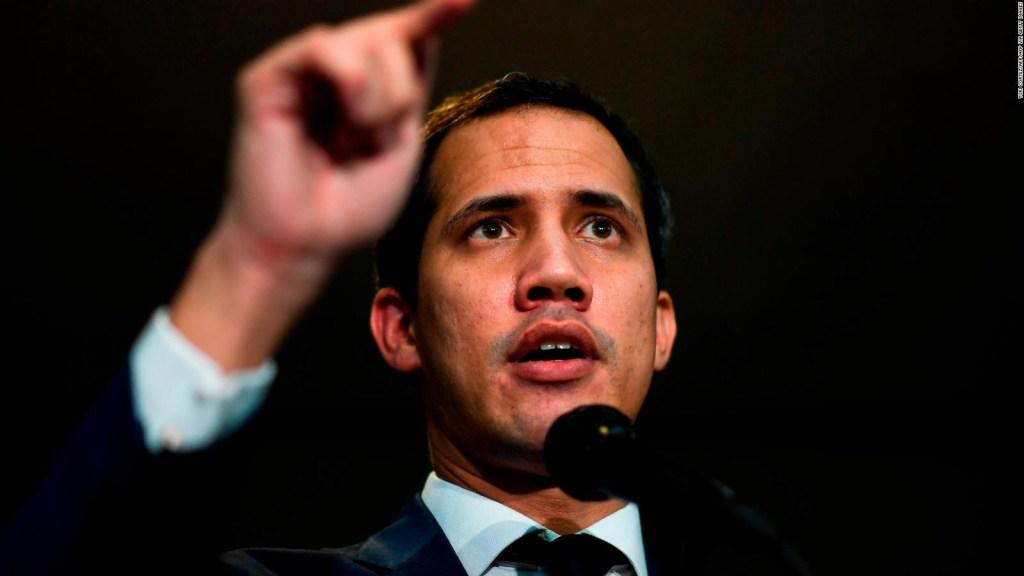 Guaidó pide que países apoyen una alternativa al gobierno de Maduro