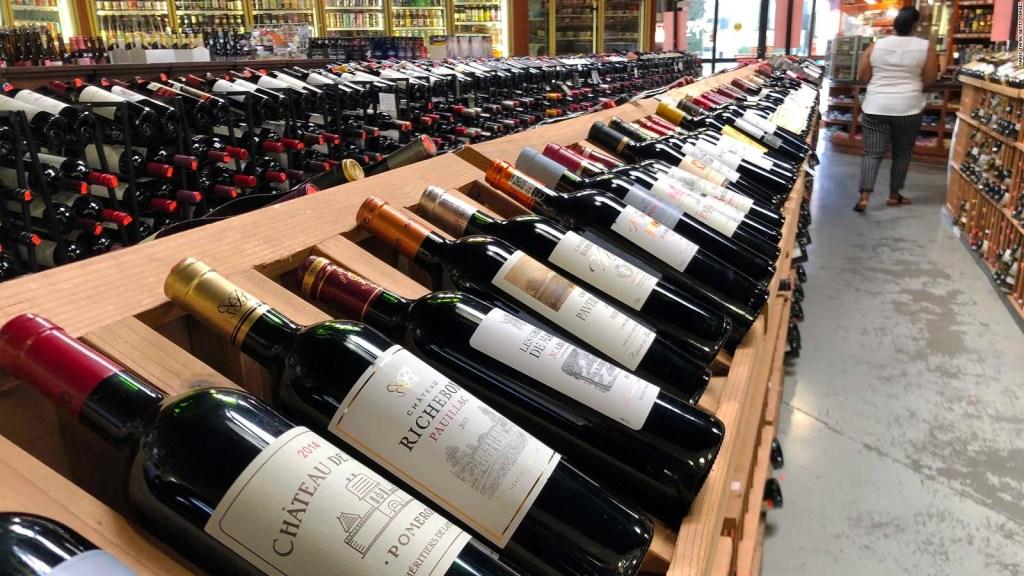 El precio del vino, en caída