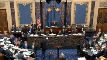 Se presentan argumentos finales en el juicio político a Trump