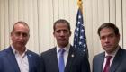 Guaidó en Miami agradece apoyo de políticos de EE.UU.