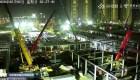 China construyó en 10 días un hospital en Wuhan