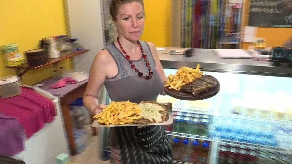 Parrilla vegana desafía la tradición cárnica en Argentina