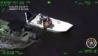 Rescatan a hombre perdido 5 días en los Everglades