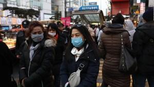 Coronavirus: Corea del Sur prohíbe el acaparamiento de máscaras