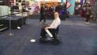 Esta silla de ruedas eléctrica es inteligente