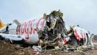 Investigan aparatoso accidente aéreo en Turquía
