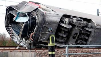 Italia: Descarrilamiento de tren de alta velocidad deja varios muertos y heridos