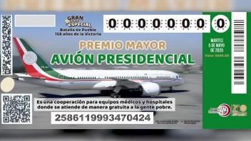 México: opiniones encontradas por rifa de AMLO