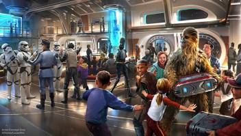 El hotel de Star Wars comenzará a tomar reservas este año