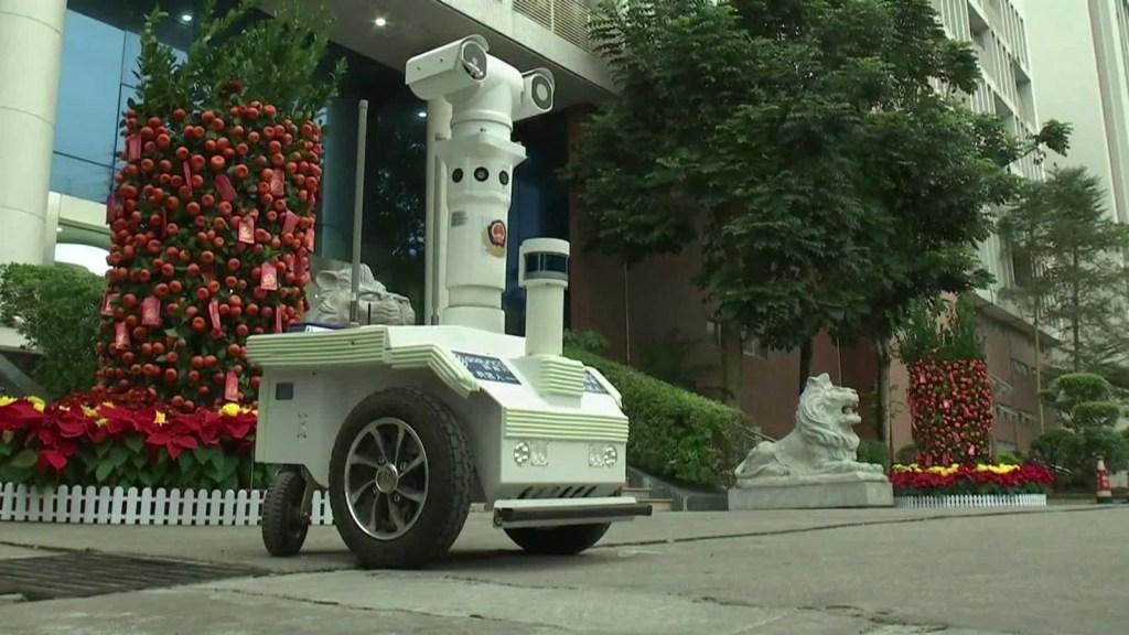 ¿Un robot para detectar el coronavirus?