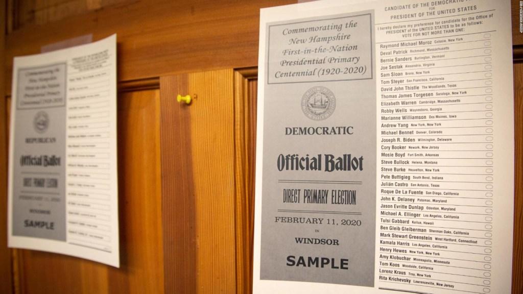 La batalla demócrata por Nueva Hampshire
