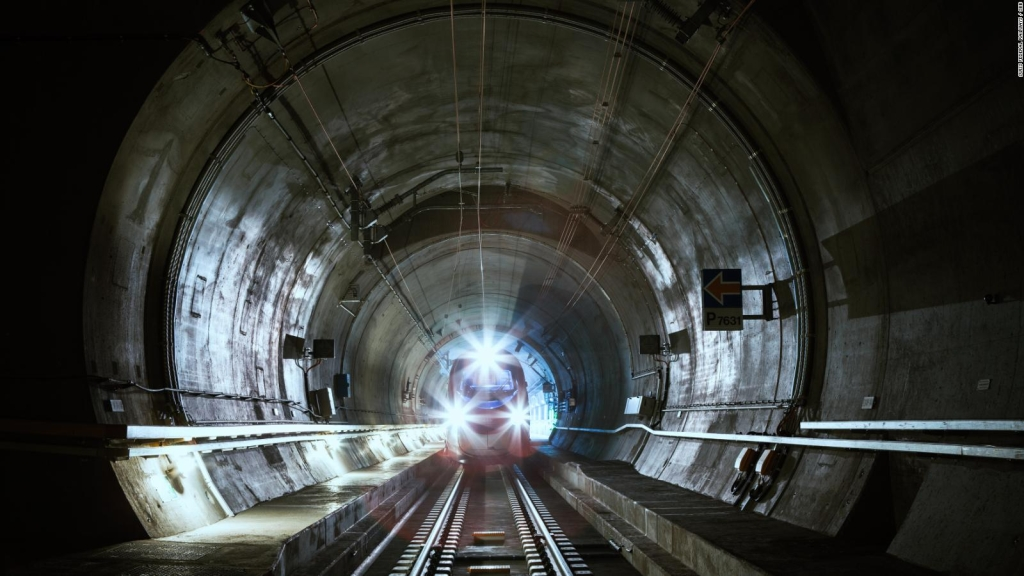 Así será el túnel ferroviario más largo del mundo