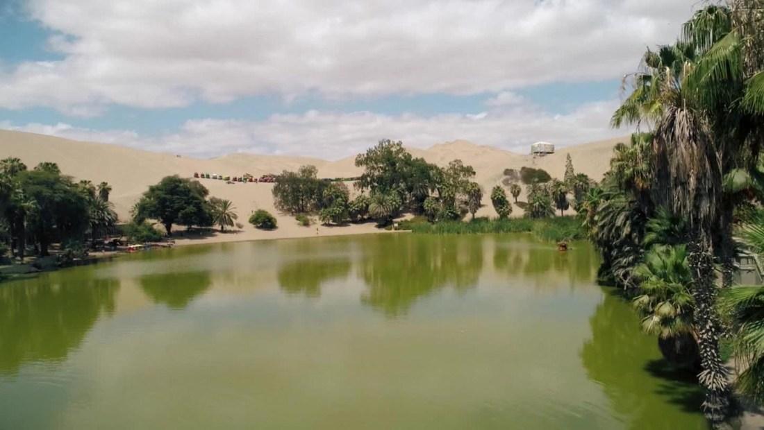 Conoce el único oasis de América Latina