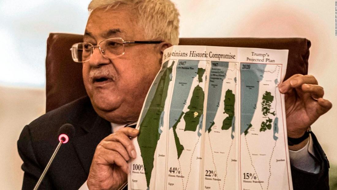 """Palestinos promueven un rechazo del """"Pacto del Siglo"""" de Trump"""