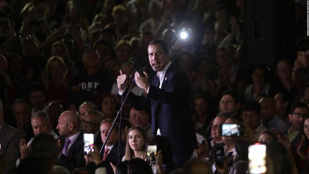 Guaidó y sus primeras palabras al regresar a Venezuela