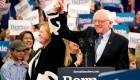 """""""Es el comienzo del fin para Donald Trump"""", dijo Sanders"""