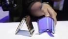Así es el nuevo celular plegable de Samsung