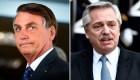 Se reunirán Bolsonaro y Fernández el próximo mes