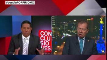 Muñoz Ledo critica la actitud de México ante la inmigración