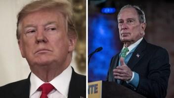 ¿Se enfrentarán Trump y Bloomberg por la presidencia?
