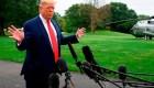 Trump y el gobernador de Nueva York, a puertas cerradas