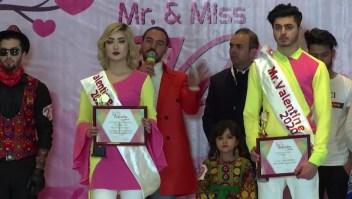 Concurso en Afganistán por el día de San Valentín