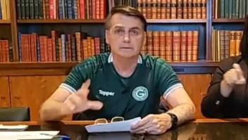 """Nos interesa que Argentina sea fuerte"", dijo Bolsonaro"