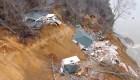Tennessee: Dos casas colapsan por fuertes lluvias