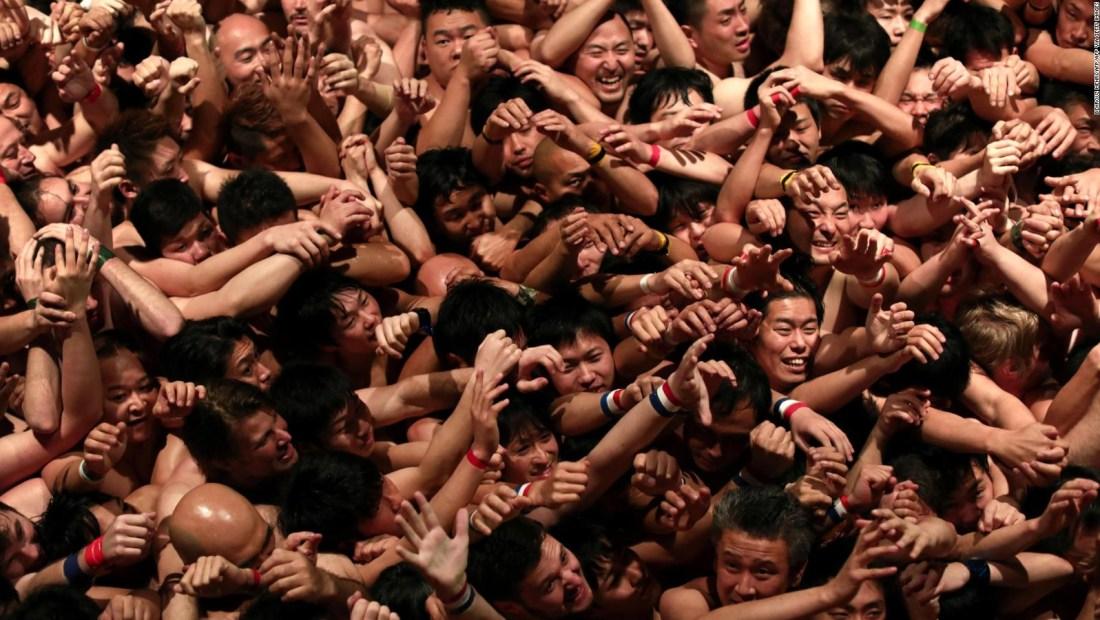 """Así es el """"Festival del desnudo"""" de Japón"""