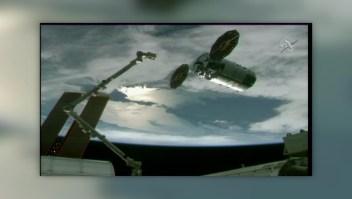 Llegan suministros a la Estación Espacial Internacional