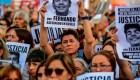 Miles de argentinos marcharon por el crimen de Fernando Báez