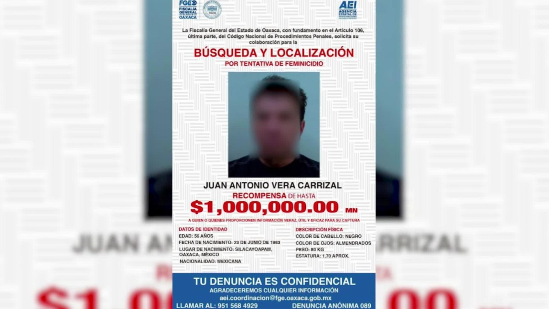 México: se busca a exdiputado prófugo de la justicia