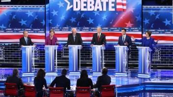 Debate en Nevada: los aspirantes contra Bloomberg