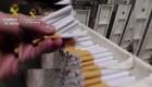 Policía española descubre fabrica ilegal de tabaco