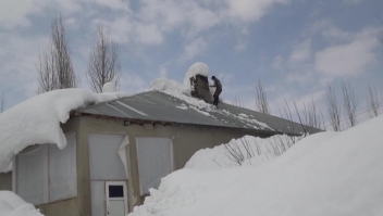Nevada deja 9 metros de nieve en Turquía