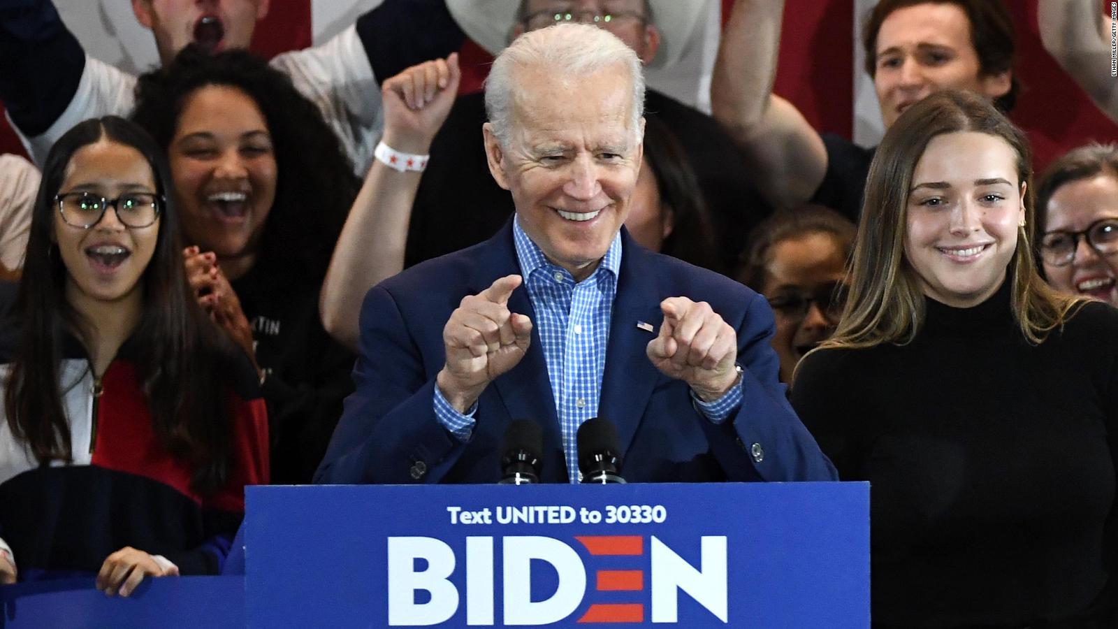 Biden remonta en Carolina del Sur